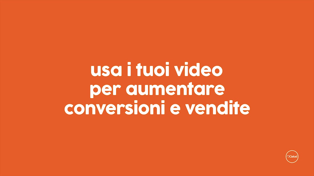 Big Data Video, Ciakad conversion analytics video SEO e bi strategy