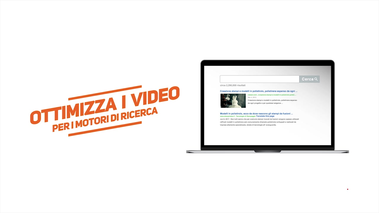 Video search marketing, tecnologia digitale Ciakad Video SEO Tool on line