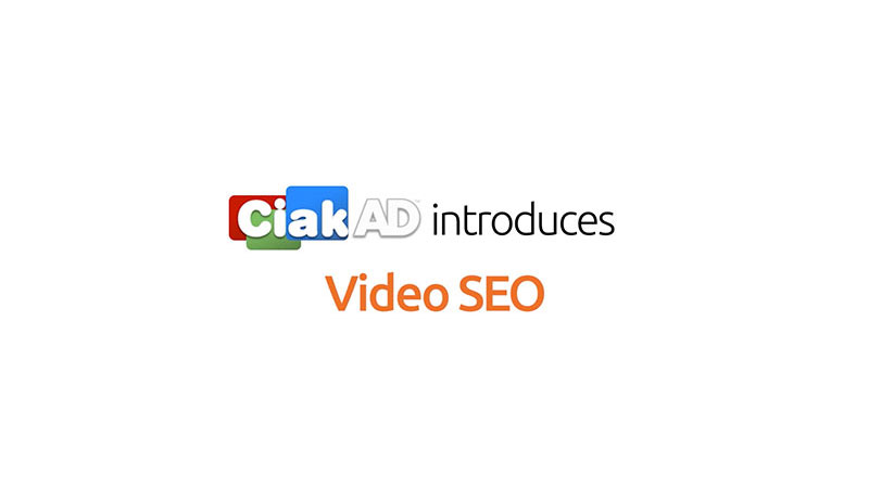 CiakAD Seo video, web video marketing, to optimization on line video ads and website in the search engines, commercial video, service for company to get traffic, improve leads and sales, professional seo video advertising, market place b2b.